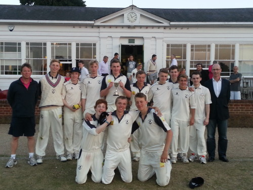 The Victorious U17s Team