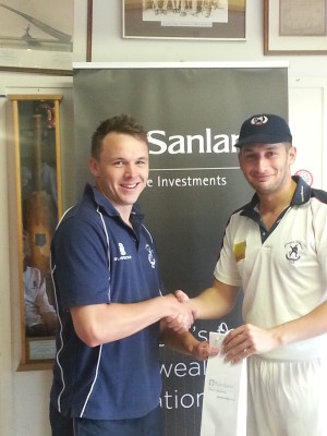 Sanlam Private Investments Man of the Match - Mike Thompson
