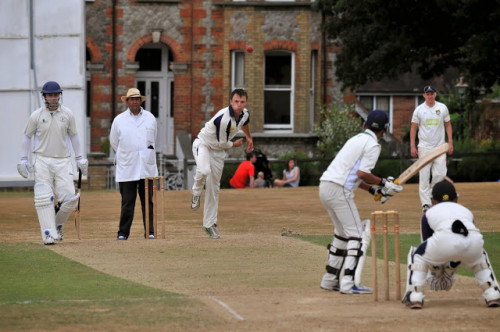 2014 Captain Mike Thompson in action